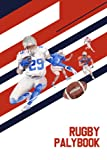Rugby Playbook: Rugby Playing Book for Plan Tactics and Strategies for School Players