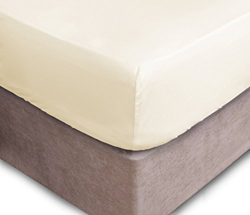 NIYS Luxury Bedding Extra Deep Fitted Sheets 16'/40CM Deep Bedsheets 16...