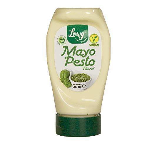 Maionese Vegan con VERO sapore di pesto - NO EGG - 100% VEGAN - Certificato FODMAP basso -
