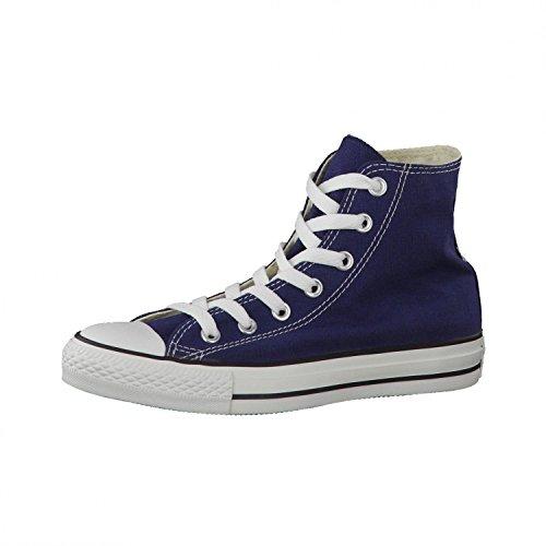 Converse Chuck Taylor All Star Hi, Zapatillas de tela Unisex, Azul (Navy Blue), 37 EU