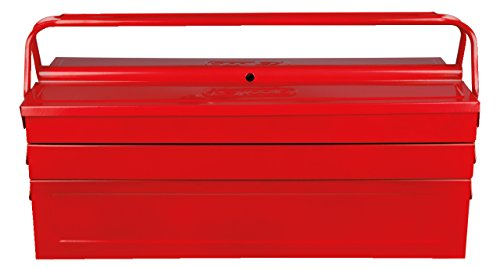 KS Tools 999.0125 Werkzeugkiste Metall, 5 Fächer, 550mm