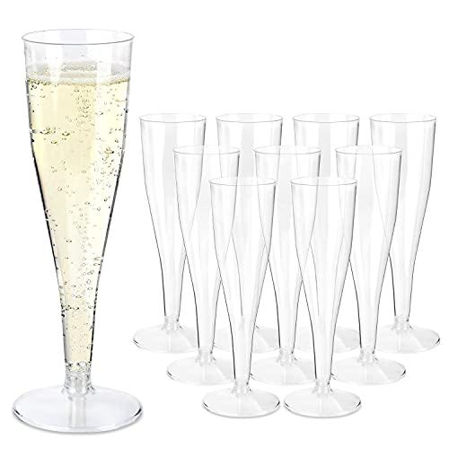 Schramm® 100 piezas de copas de champán desechables copa de champán copa de...