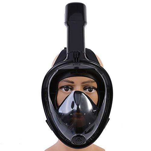 Jadpes duikmasker volledig droog, volgelaats-snorkelmasker 180 ° View anti-fog duikmasker voor kinderen met bonus oordopjes duiken snorkelen Free Diving