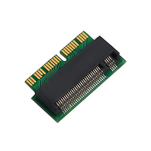 QNINE M.2 NVME SSD Adapter Karte für Upgrade MacBook Pro (Retina Late 2013 - Mid 2015) und MacBook Air (Mid 2013-2017)