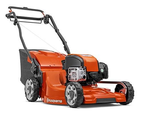 Husqvarna LC 353V Push Lawn Mower 2400W Black, Red–Lawn Mowers (Push Lawn Mower, 53cm, 2cm, 7.5cm, 60L, 4Wheel (S))