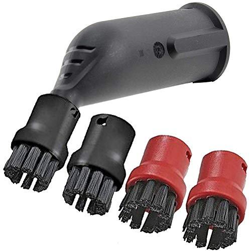 Spares2go Spray Jet Detail Bevestiging + Borstelmondstukken voor Karcher Stoomreinigers
