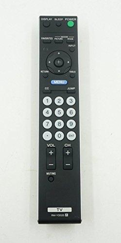 Elife Generic mando a distancia apropiado para rm-yd025KDL-46S4100kdl-52V4100kdl22l5000kdl26l5000kdl32l4000para Sony LED LCD TV