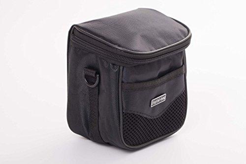 vhbw Universal Tasche Größe M schwarz passend für Kamera, Camcorder, Fotoapparat Sony Cybershot DSC-HX400V, DSC-HX50, DSC-HX50V, DSC-HX60