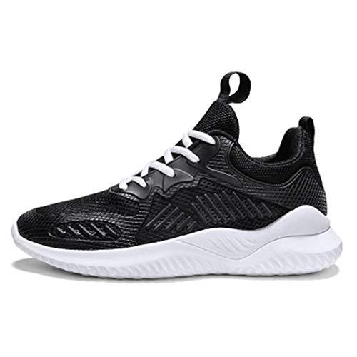 Mofeng scarpe da ginnastica da uomo scarpe da corsa scarpe da ginnastica sportive all'aperto palestra confortevole scarpe casual per uomo, Nero (Nero ), 39 2/3 EU