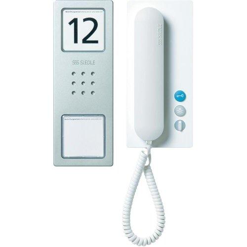 Siedle CA 812-1 BS/W Türsprechset für das Einfamilienhaus