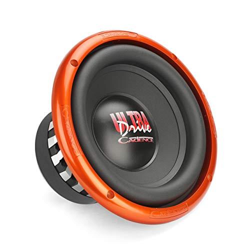 Cadence UD8D4 500 Watts 8' Dual 4 Ohm Ultra Drive Car Audio Subwoofer