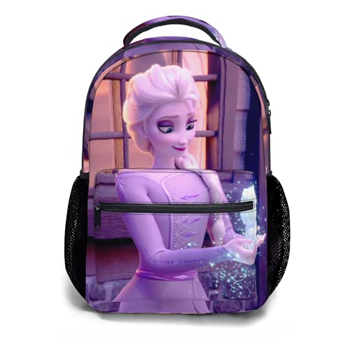 Toplived Fro_zen Elsa_Anna - Borsa per giocattoli per bambini, zaino per la scuola per ragazze e ragazzi, 45 cm, Colorato 23, Taglia unica