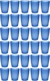 idea-station NEO Kunststoff-Becher 30 Stück, 250 ml, blau, mehrweg, bruchsicher, stapelbar,...