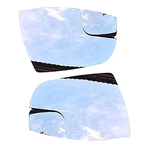 DENGZ Cristal De Espejo Retrovisor, Repuesto para Ford Focus 2012 2013 2014 2015 2016 2017 2018, Retrovisor Lateral Calefactado, Antiniebla, Accesorios De Coche Izquierda Derecha