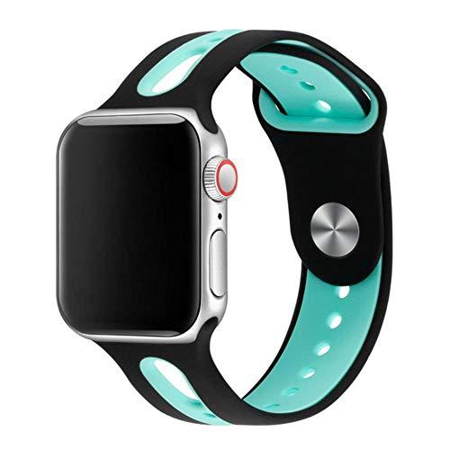 CICI Silicone Bracelet Watch Trailer di 42 Millimetri 38mm Elastici 44 Millimetri di 40mm di Apple Cinghia di Apple iWatch Cinturino Series4 / 3/1.2,20,38 Millimetri 40 Millimetri ML