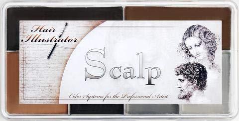 Skin Illustrator - Paleta de cuero cabelludo
