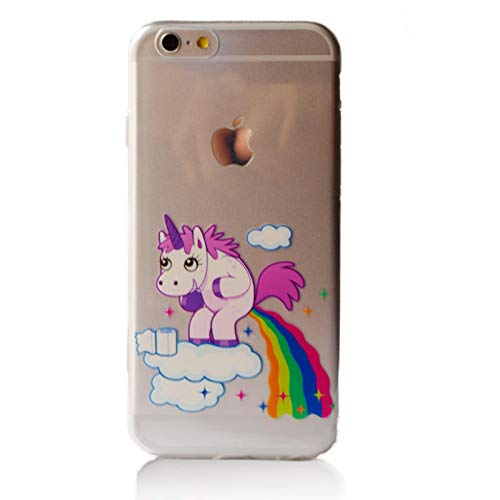 MyCase Carcasa Estilo Unicornios iPhone 7 Plus / 8