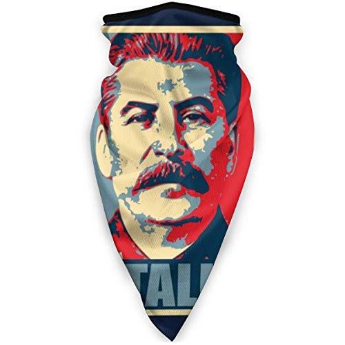 ghjkuyt412 Stalin Hope Parody Face Mask Bandanas for Dust, Outdoors, Festivals, Sports