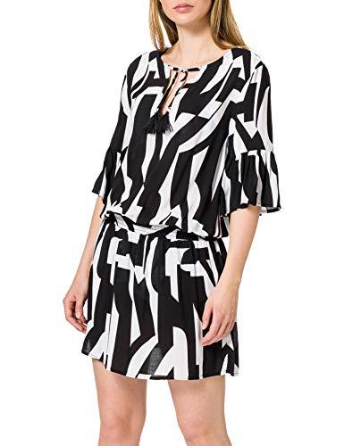 ESPRIT Bodywear Damen LIDO Beach Acc Tunic Überwurf für Schwimmbekleidung, 001, XS