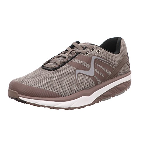 MBT Leasha Trail Lace Up, Zapatillas de Deporte para Mujer, (Lt.Chocolate/Silver), 36 EU