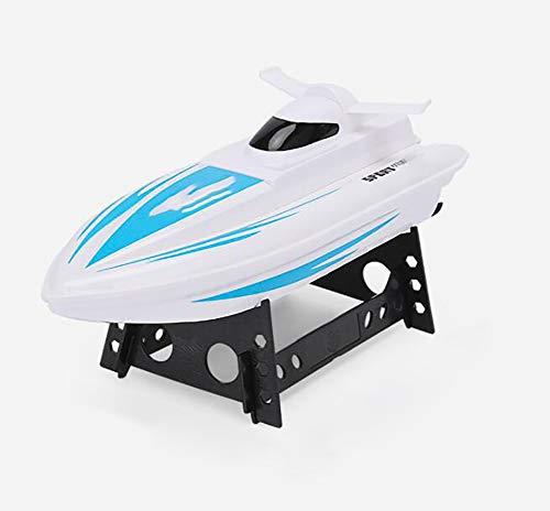 pequeño y compacto XIHAI Barco de control remoto de alta velocidad 25 km / h Barco RC 2,4 GHz Aero Casco Barco de control remoto …