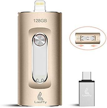 Looffy 128GB USB 3.0 USB Type-C Flash Drive Stick