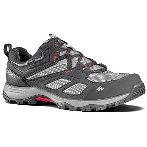 Quechua MH500 Men's Waterproof Walking Shoes - Grey (EU 39)
