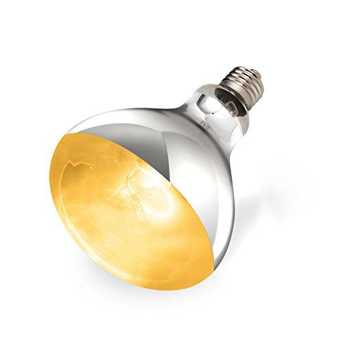 REPTI ZOO Reptile Heat Lamp Full Spectrum UVA UVB Reptile Sun Lamp Self-Ballasted Vapor Basking Spot Lamp/Bulb/Light for Reptile and Amphibian (160W)