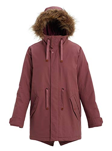 Burton Damen Saxton Parka, Rose Brown, L
