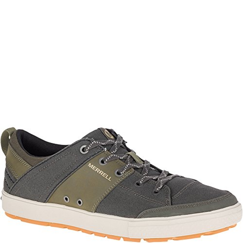 Merrell Rant Discovery Lace Canvas Shoes, Beluga, 9.5 M US Adult