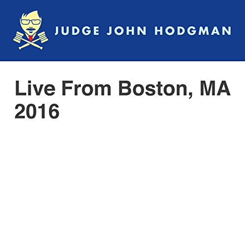 Live From Boston, MA 2016 audiobook cover art
