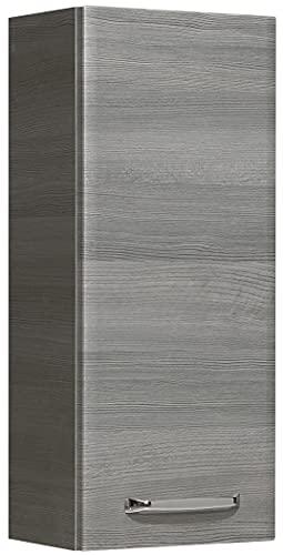 PELIPAL Wandschrank, Graphit Struktur quer Nachbildung, 20x30x70 cm
