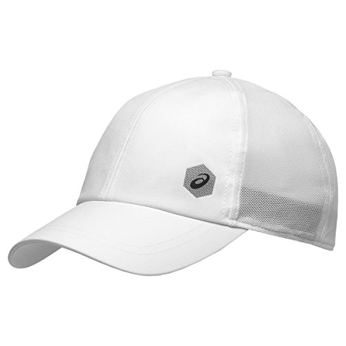 ASICS Herren Essential Cap, Brilliant White, One Size