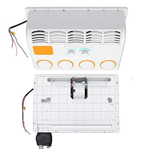 Adjustable 12/24V Universal Wall-Mounted Car Air Conditioner Evaporator Portable Car Air Conditioner Hook (12V)