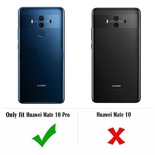 TopACE Hülle für Huawei Mate 10 Pro, TPU Hülle Schutzhülle Crystal Case Durchsichtig Klar Silikon transparent für Huawei Mate 10 Pro (Transparent) - 3