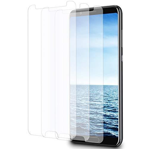 MYCASE 3X Bildschirmschutz Folie für Huawei Honor V10 / View 10   Echt Glas   0,3 mm Dünn