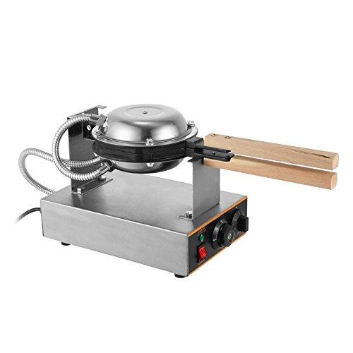 Olibelle 1400W Machine à Gâteau aux Oeufs Electrique Appareil à Beignet Professionnel Waffle Egg Cake Maker Professional pour Cuisine Restaurant Soirée et Fête