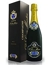 【グレープフルーツのような新鮮な香り】シャンパーニュ・ポール・ルイ・マルタン・ブリュット・グランクリュ ギフト箱入り 750ml [ フランス/スパークリング/辛口  /winery direct ]