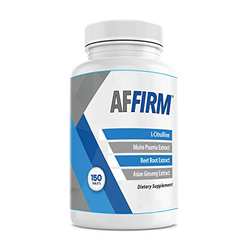AFFIRM Science AFFIRM L-Citrulline Dietary Supplement 750mg 150 Tablets (75 Day Supply)   Improves Male ED Performance   Created by Dr. Judson Brandeis