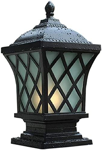 LUCKQS Outdoor Pillar Max 83% OFF Light Column Exterior Max 82% OFF Lamp Alumi Rainproof
