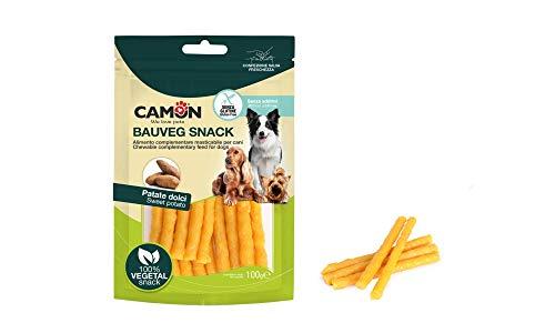 Camon Bauveg Snack Cuoricini con Patata Dolce per Cane da 100gr
