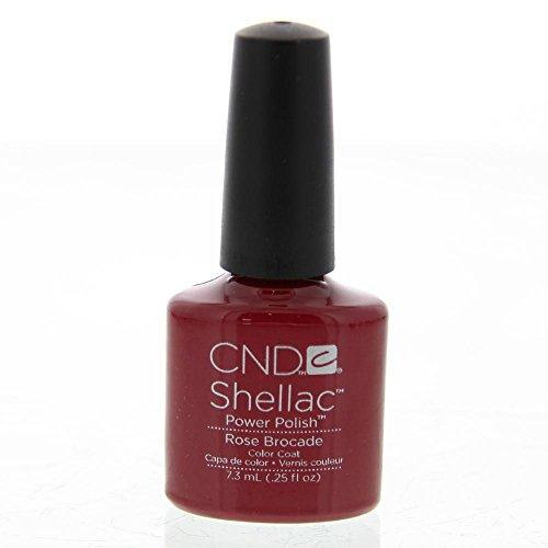 CND, Smalto per unghie Shellac, Rose Brocade, 7 ml