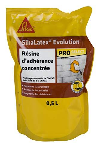 SikaLatex, Emulsión adhesiva, listo para usar, para mortero y lechada de cemento,...