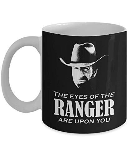 N\A Walker Texas Ranger Merchandise (Chuck Norris) Taza Taza de café, Divertido, Taza, té, Regalo para Navidad, día del Padre, Navidad, papá, Aniversario, Madre