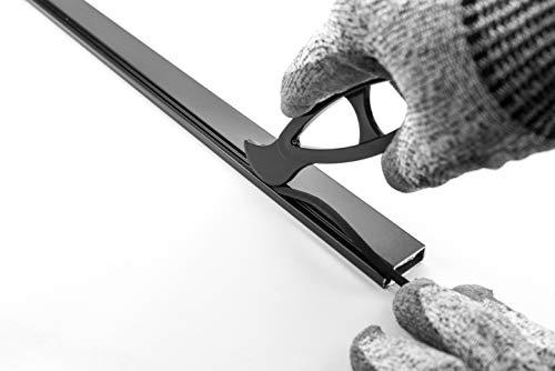 Fliegengitter Kederwerkzeug zum einbrigen der Kederschnur in Fliegengitter Alu Rahmen Kedereinroller für Alugewebe, Edelstahlgewebe oder Fliegengitter Gewebe