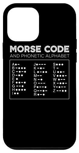 iPhone 12 mini Morse Code Phonetic Alphabet Decipher Translator Tee Case
