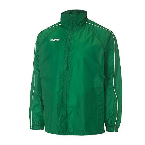BASICRAINRegenjacke · UNISEX Damen & Herren Sportjacke wasserundurchlässig · UNIVERSAL Regenschutz für Jugendliche & Erwachsene Größe L, Farbe grün