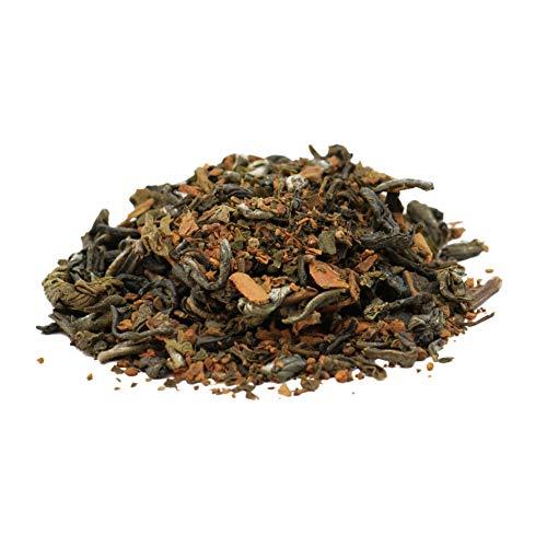 Origin Ceylon Tea - 100g (150 Tassen) Ayurveda Zimt Tee mit Grünem Tee - Lose Blätter - Direkt von der Plantage aus Sri Lanka