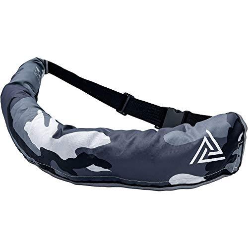 BALANCE LAND ライフジャケット 救命胴衣 手動膨張式 ベルトタイプ CE、ISO認証取得済 フリーサイズ 反射テープ付き ホイッスル付き 釣り 災害用 水泳 緊急用