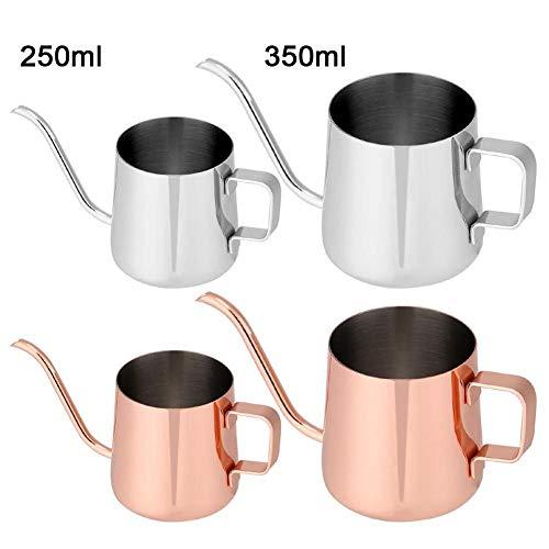 ERXCA koffiezetapparaat 250 ml / 350 ml theepot van roestvrij staal druppelkan koffiezetapparaat lange uitloop waterkoker keuken theegereedschap